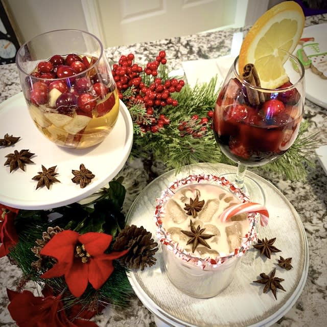 Finger Lakes Inspired Holiday Cocktails