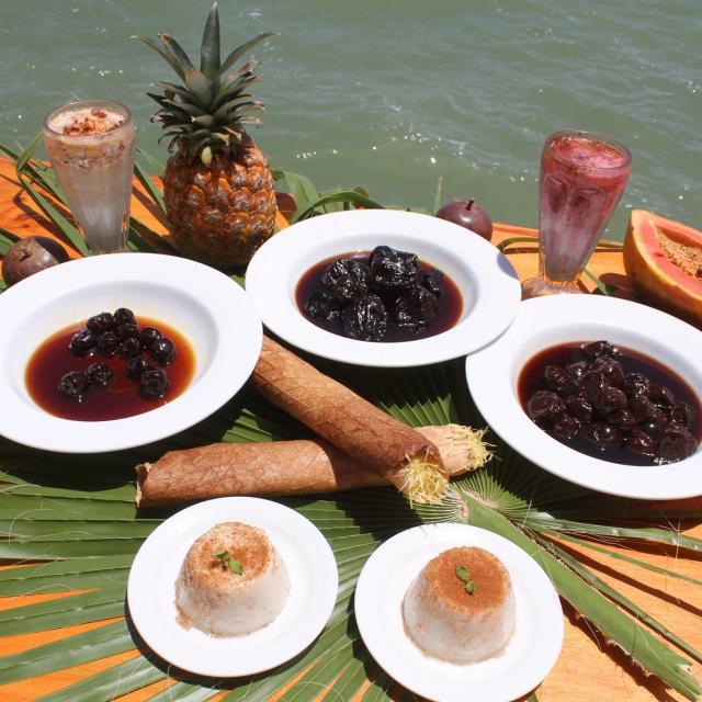 Food Platter by Ocean