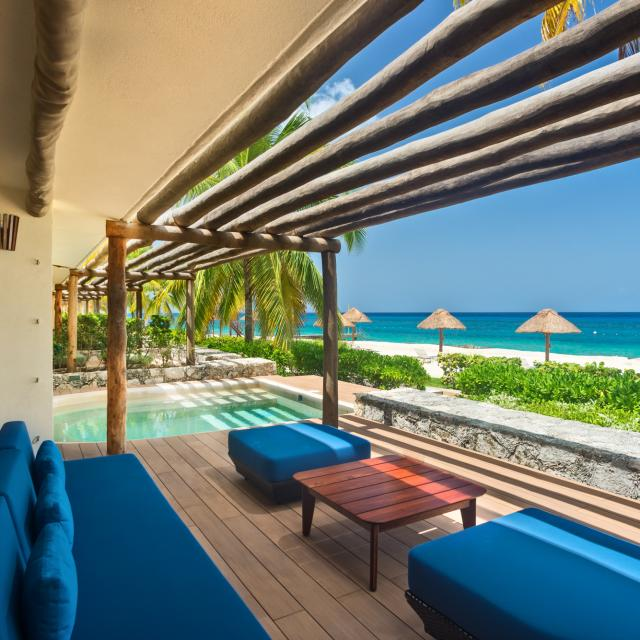 Reef Suite Plunge Pool Terrace