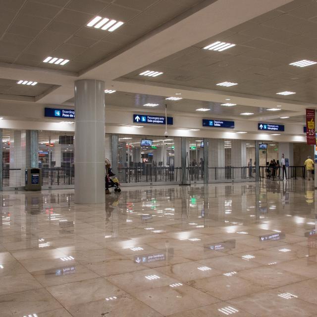 Airport Line Entrances