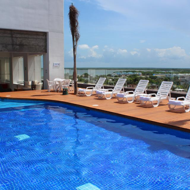 Hotel Pool and Deck