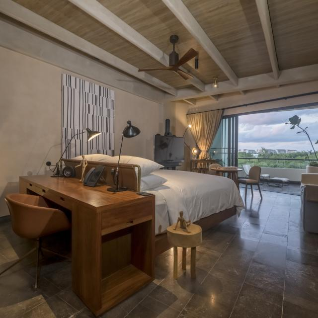 Modern Hotel Suite with View