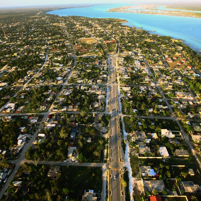 Bacalar Aerial Photo
