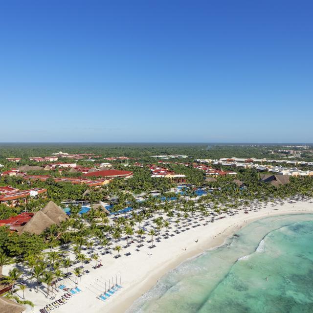 Riviera Maya Beach Resort Aerial View