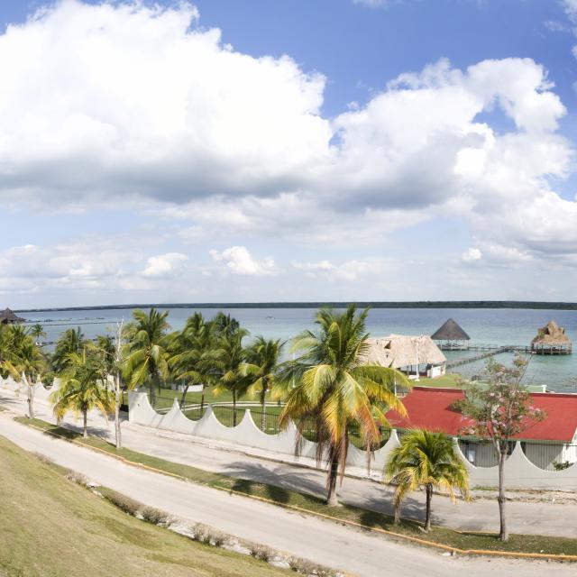 Bacalar - Fuerte de Bacalar - panorama