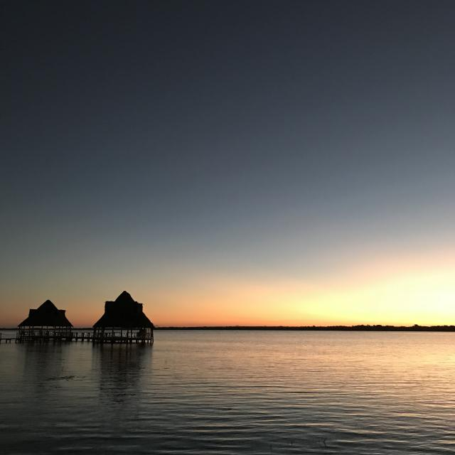 Bacalar Sunset