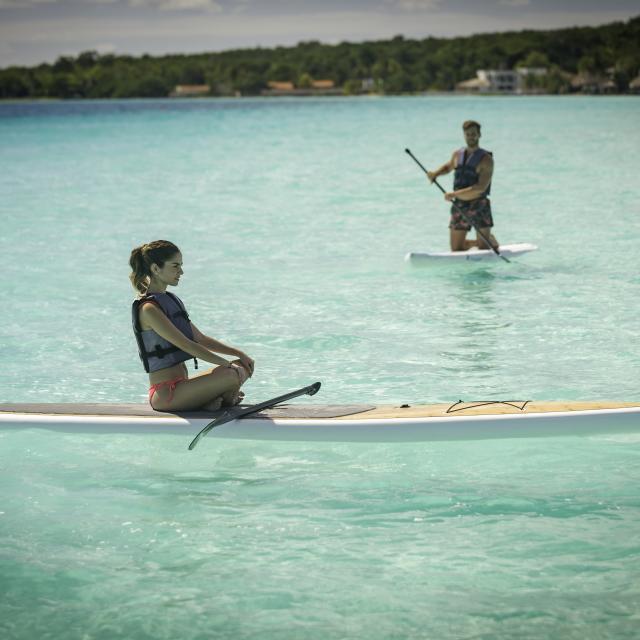 Bacalar paddle 2