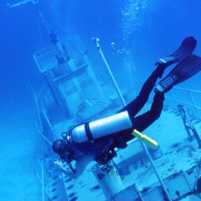 Scuba Diving a Shipwreck