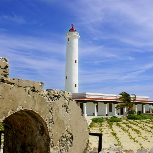 Punta Sur Lighthouse