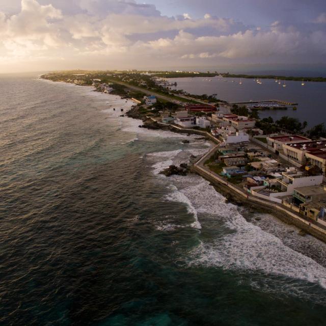 Isla Mujeres Aerial 2
