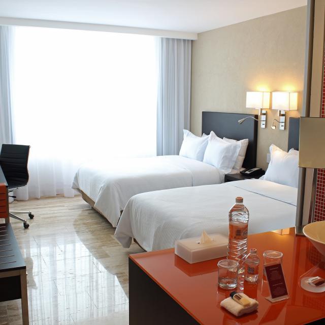 Double Suite Hotel Room