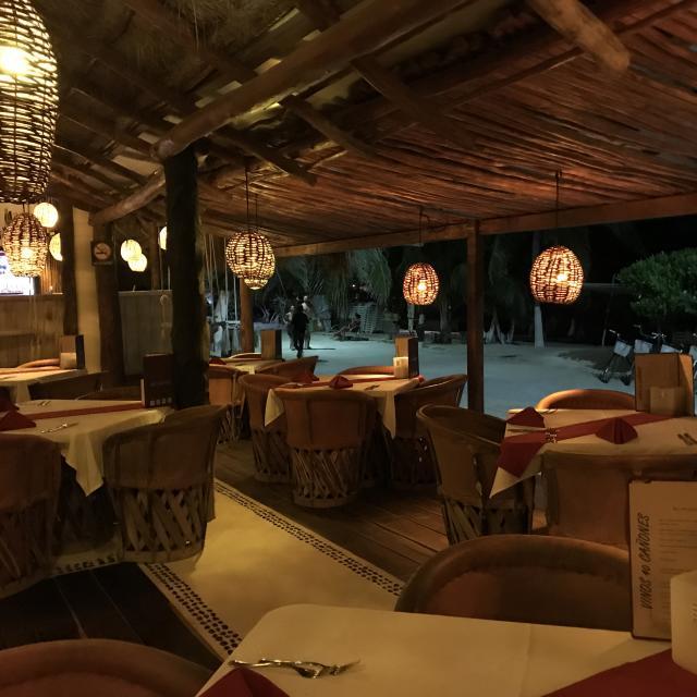 Beachfront Restaurant Interior