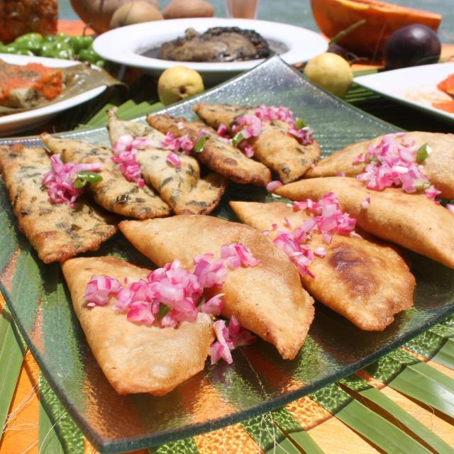Empanadas on Plate