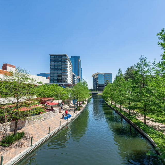 The Waterway near Waterway Square