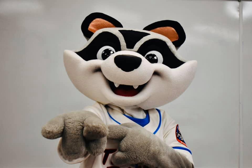 Sprocket Rocket City Trash Panda Mascot