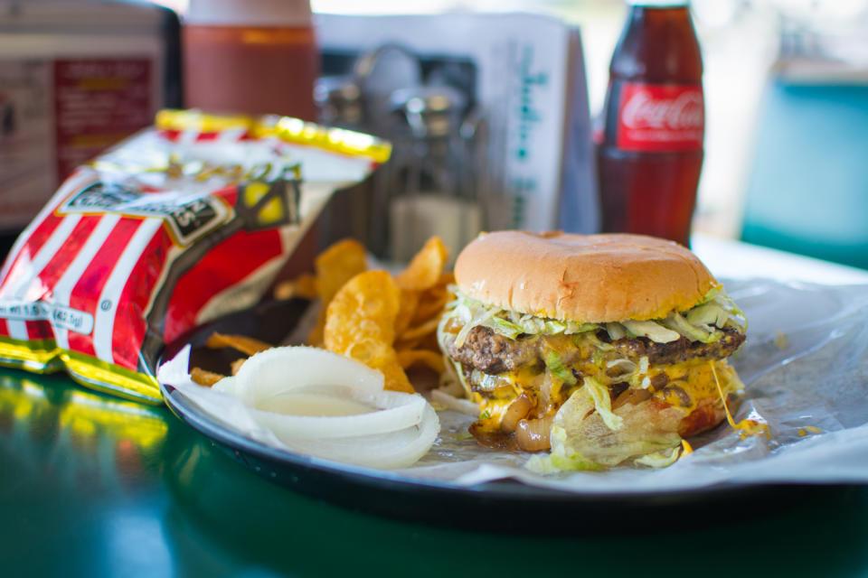 Judice Inn Burger