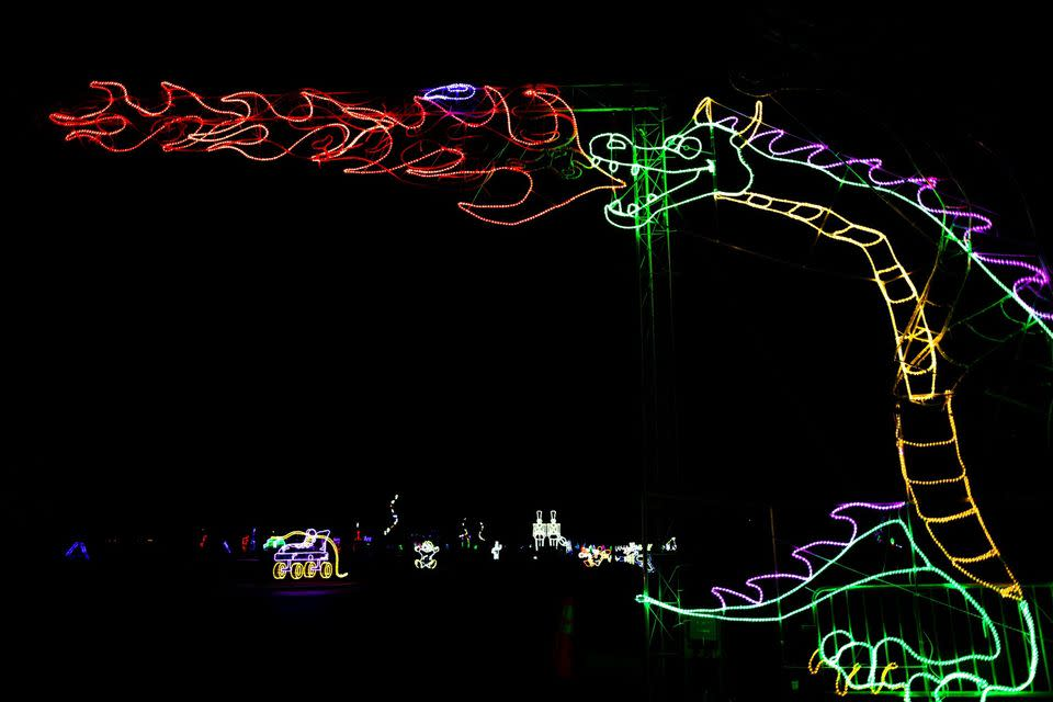 The Great Christmas Light Show at North Myrtle Beach Park & Sport Complex, North Myrtle Beach, SC