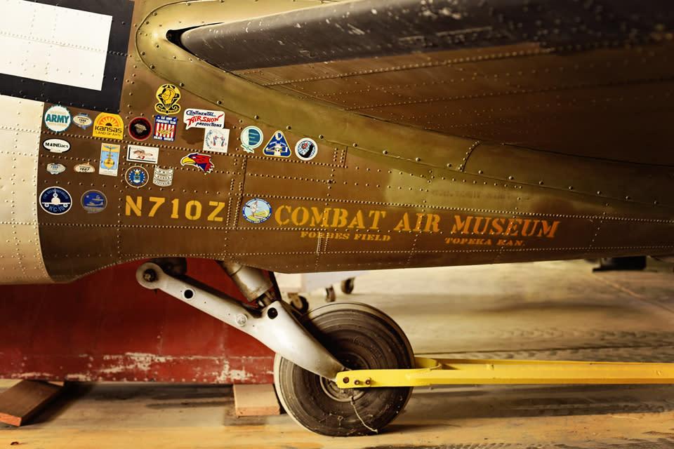 Combat Air Museum - Plane