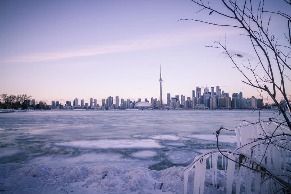 Toronto Islands Winter