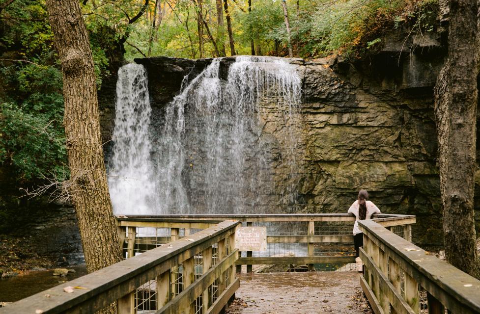 Waterfalls In Dublin Ohio