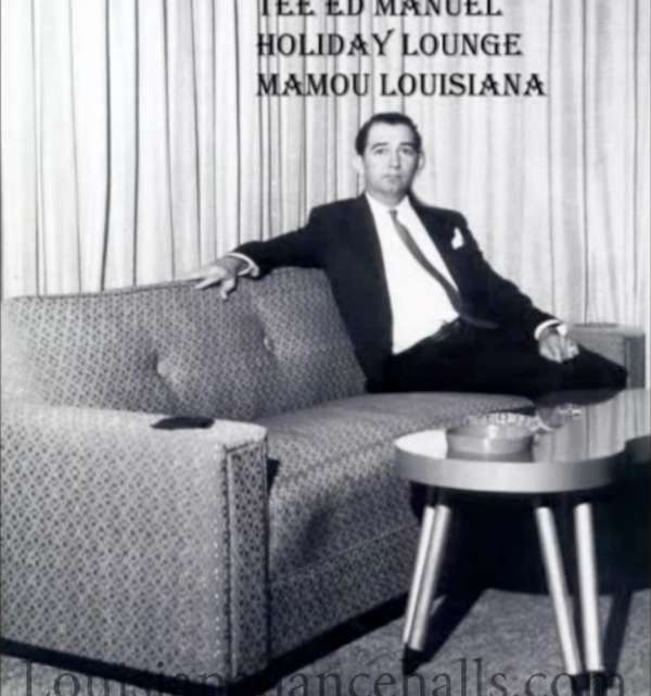 Tee Ed Manuael at the Holiday Lounge