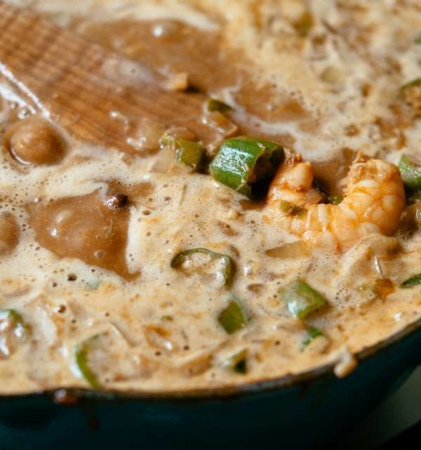 Seafood Gumbo with Okra