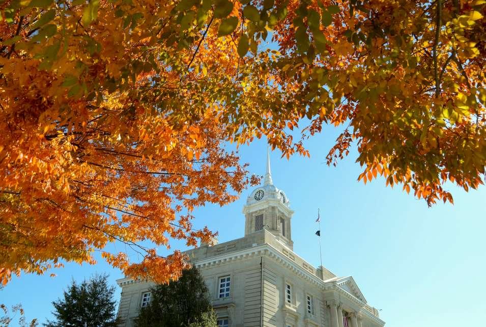 Fall in Columbia