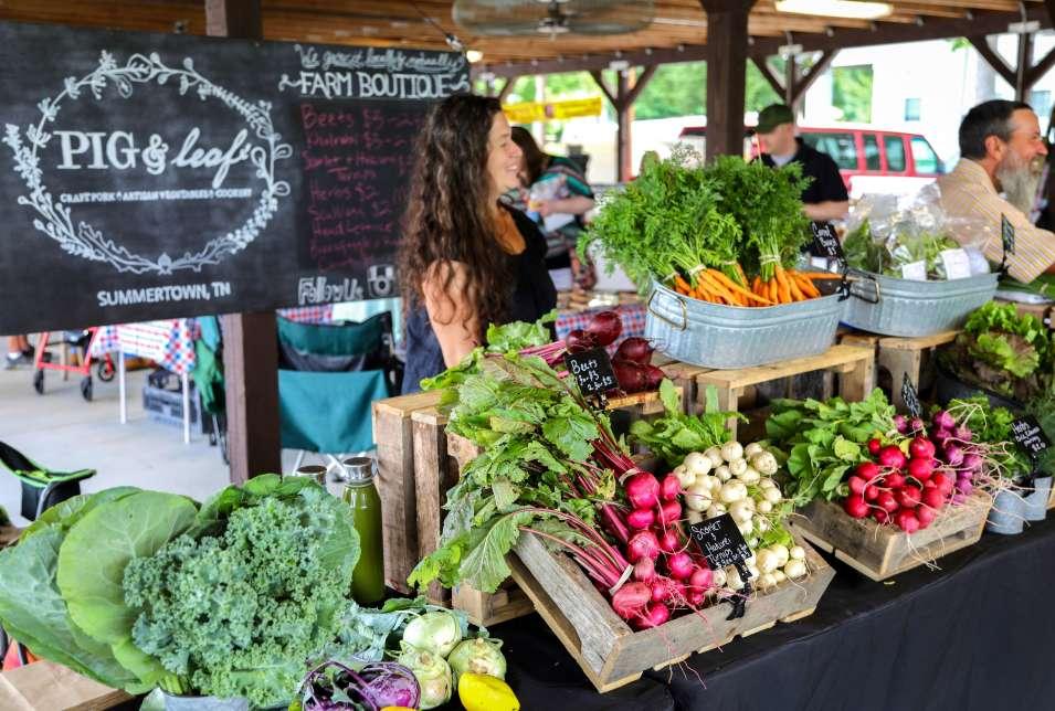Farmers Market at Riverwalk Park