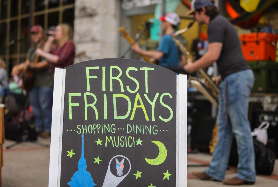 First Fridays in Downtown Columbia
