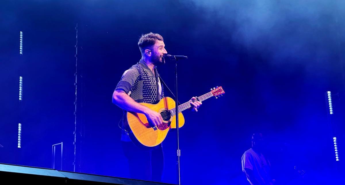 Sam Hunt performs at Musikfest in Bethlehem, PA