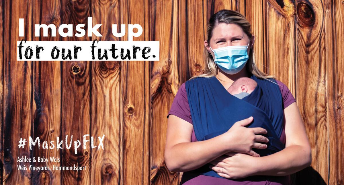 Mask Up - Ashlee Weis