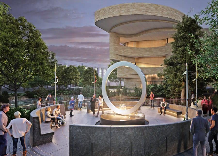 National Native American Veterans Memorial