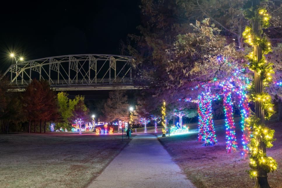Bastrop River of Lights