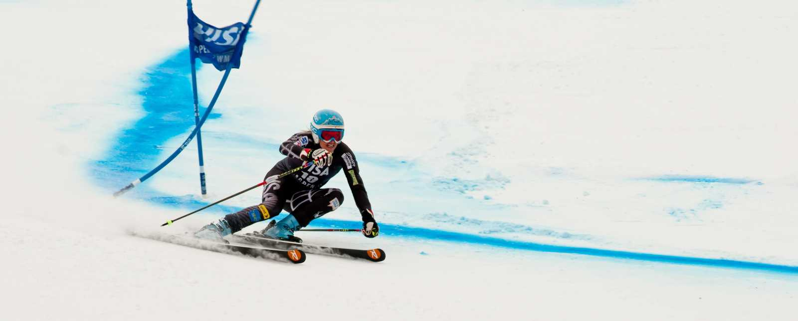 Winter Olympics Downhill Skiing