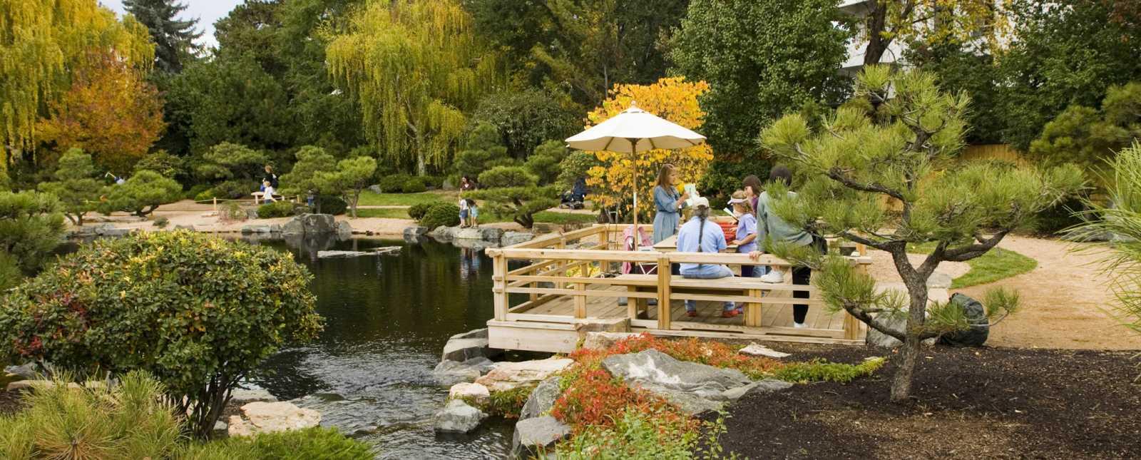 Denver Botanic Gardens in the Fall