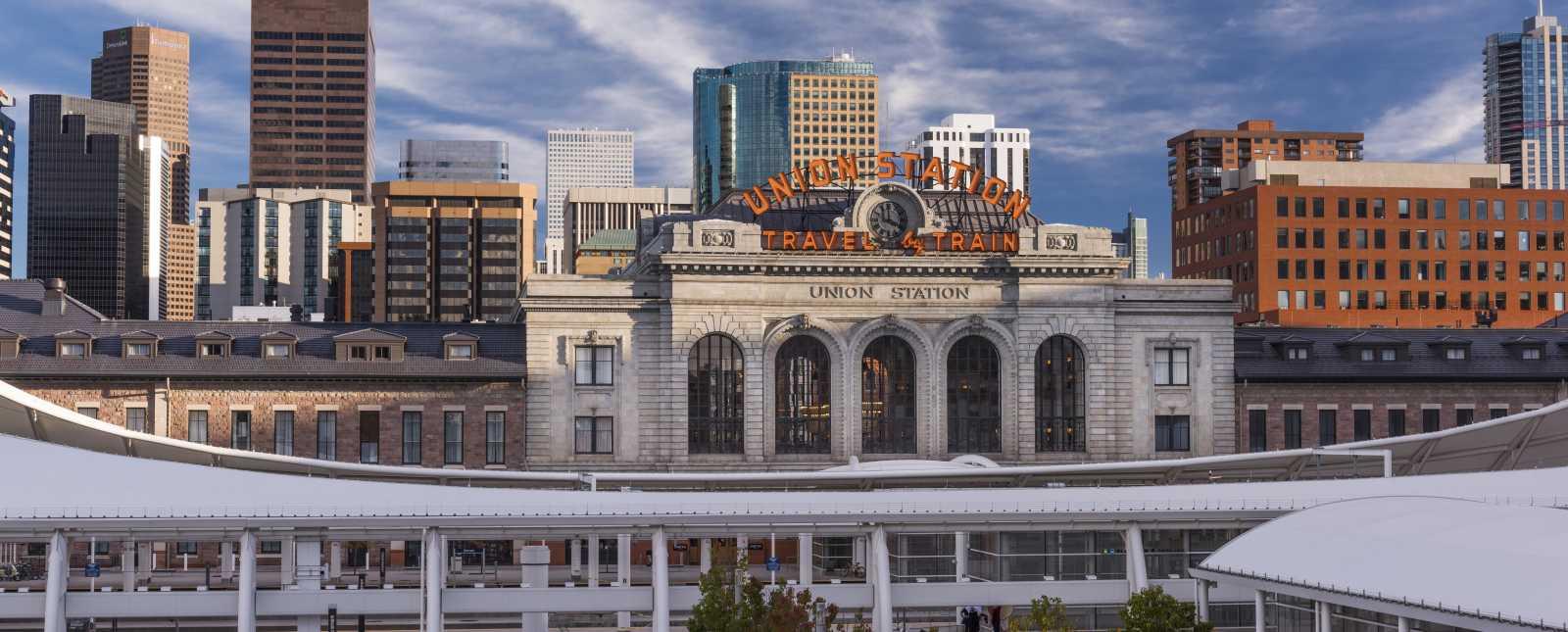 Denver Union Station Skyline