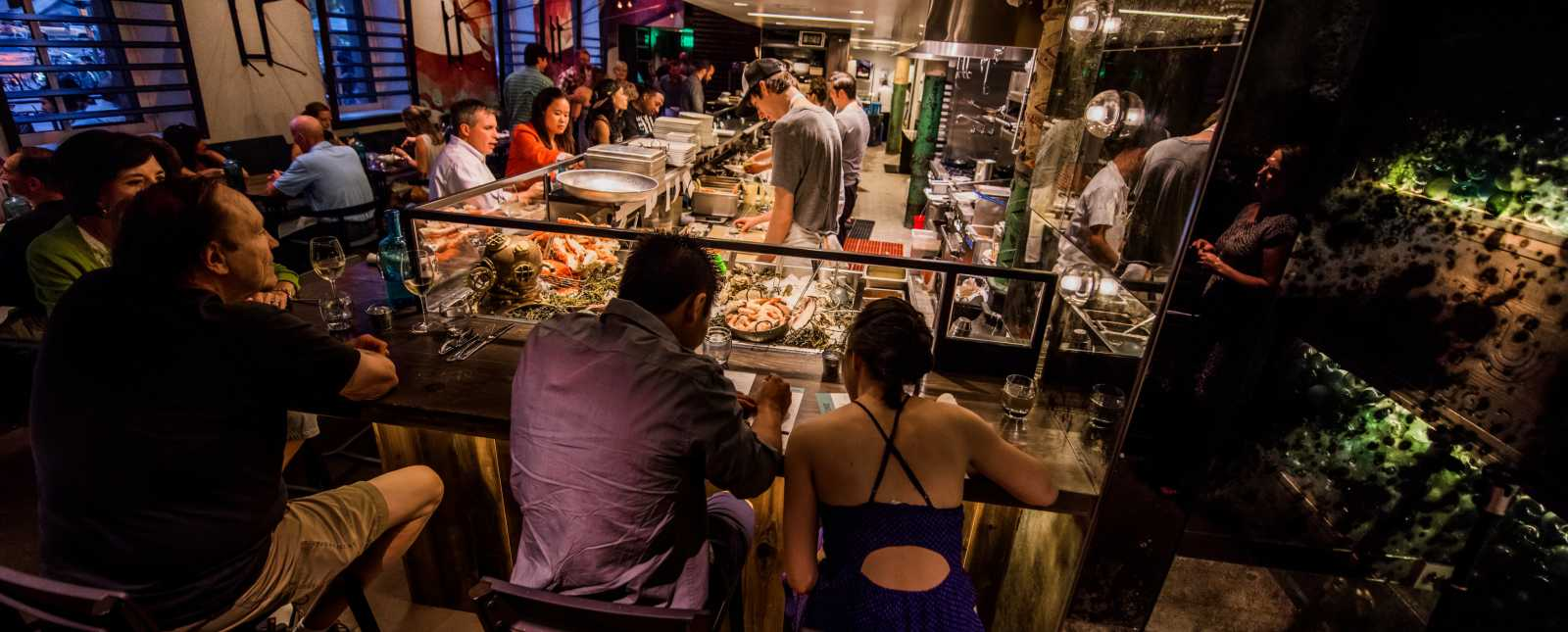 Seafood Raw Bar at Stoic & Geniune, Downtown Denver, CO