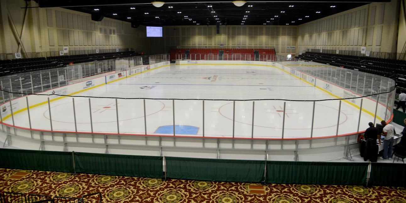 Akins Arena at The Classic Center, hockey rink