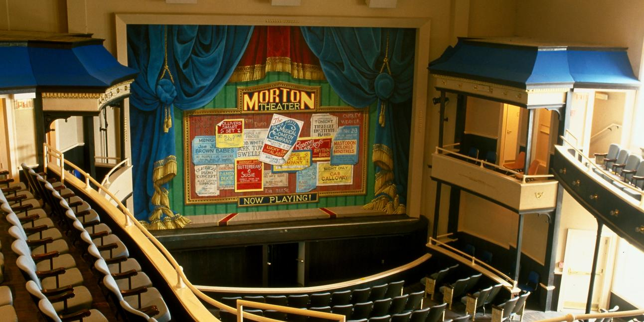 Morton Theatre stage