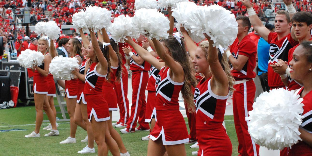 UGA cheerleaders
