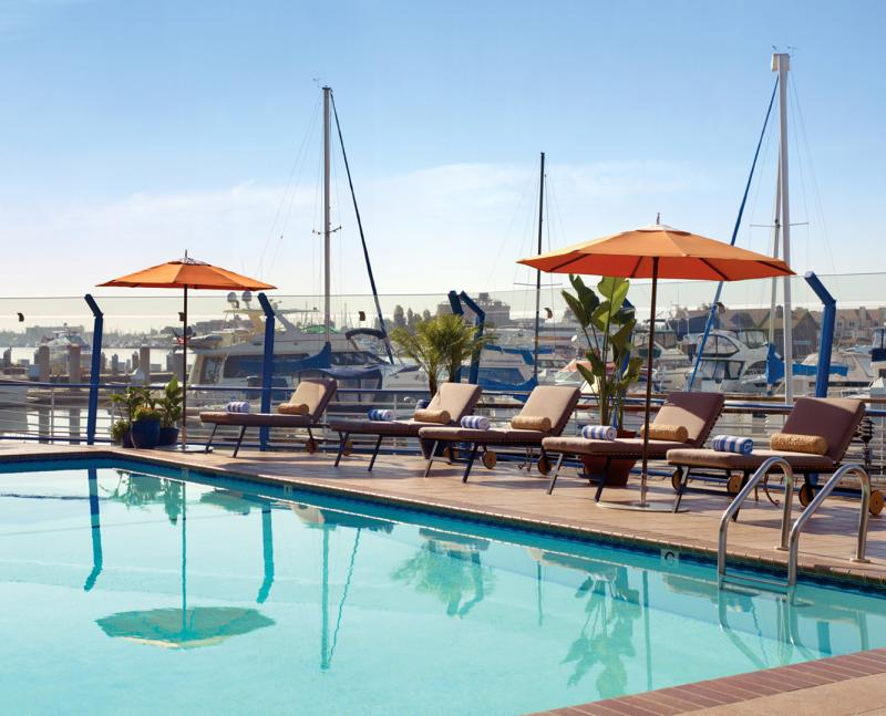 Waterfront Hotel Pool
