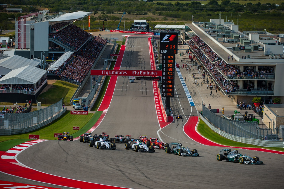 F1 at Circuit of The Americas in austin texas