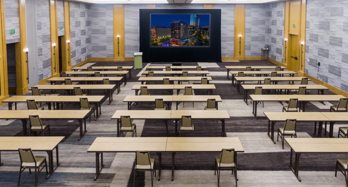 The Westin Edgewater Ballroom Socially Distanced