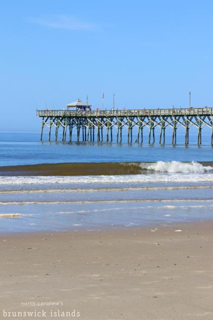 Oak Island Pier in North Carolina