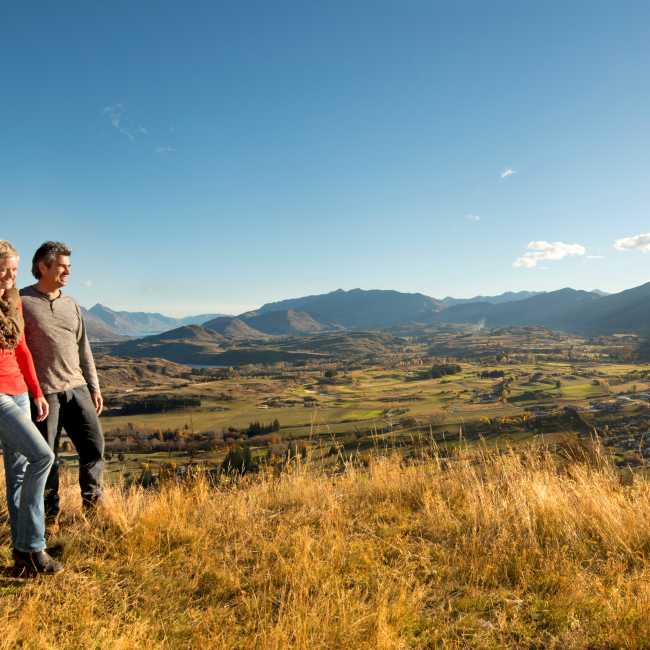 Views over Arrowtown with Nomad Safaris Queenstown