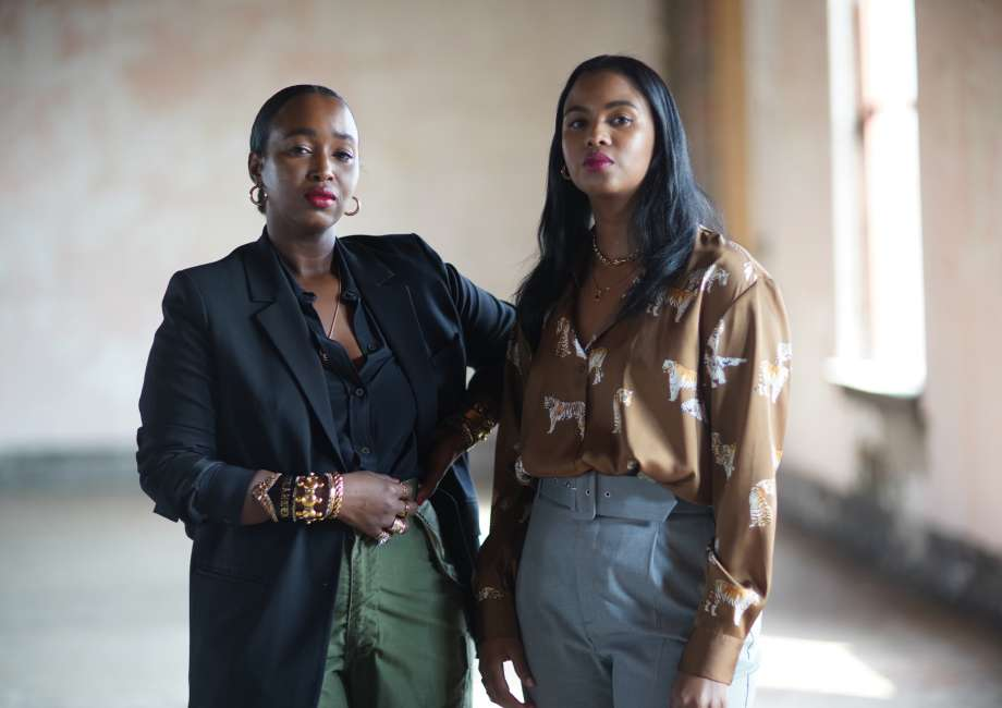 Sisters Nasteha & Nuni Yusuf, owners of The Fort, The Millennial Suite, a full service photography studio that specializes in content creation.