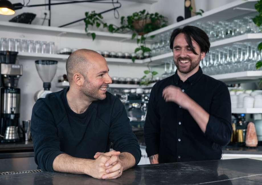 Joe Galati and Brook Maikut, co-owners of Comune, present plant-forward cuisine.