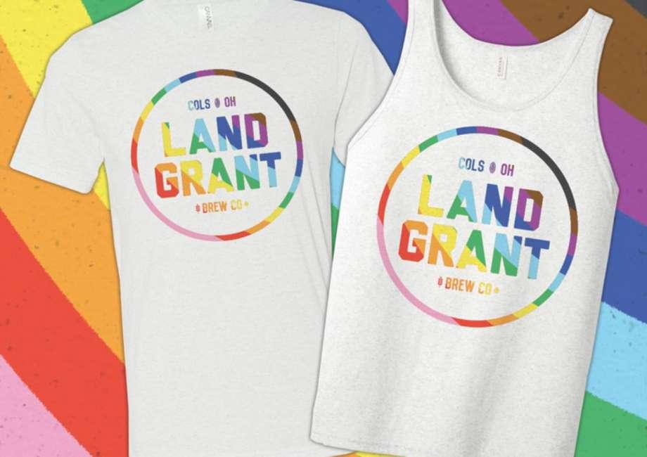 Land-Grant Pride t-shirt and tank top