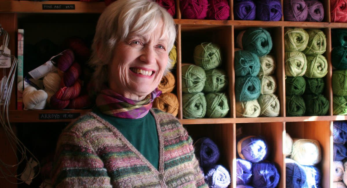 Laura Harmon, Founder of Harmony Yarn and Gifts