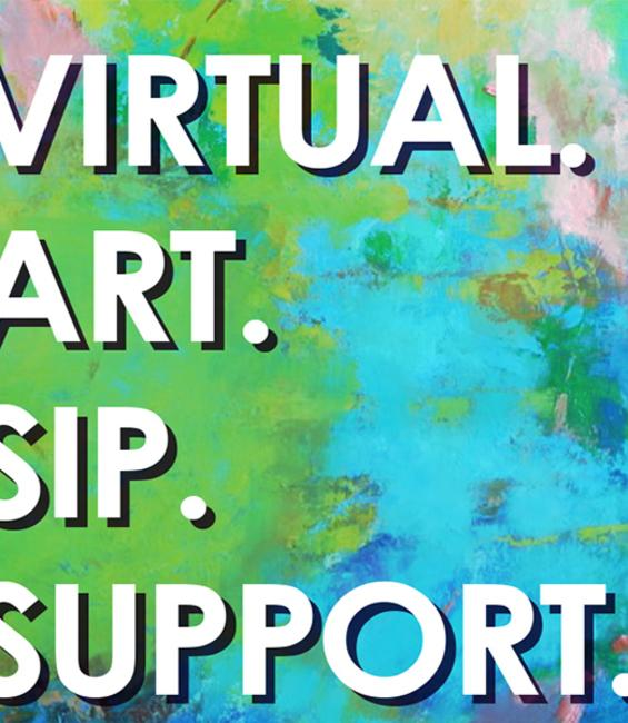 Virtual Art Sip & Stroll